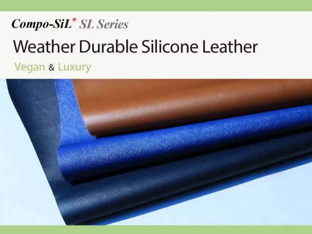 Compo-SiL® SL Series : Weather Durable Silicone Leather