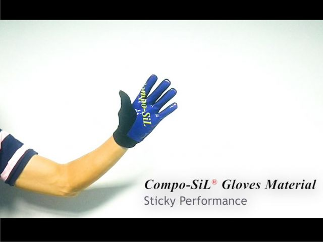 Compo-SiL® Gloves Material Sticky Performance