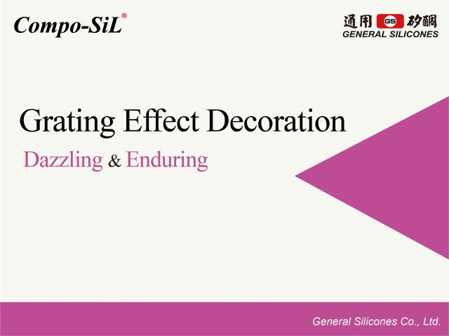 Grating Effect Decoration Heat Transfer - Compo-SiL®
