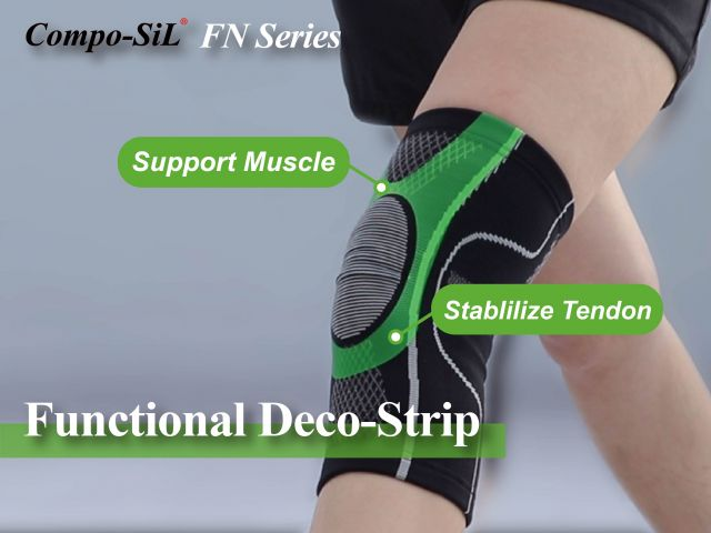 Compo-SiL® FN Series - Laminable Functional Deco-Strip