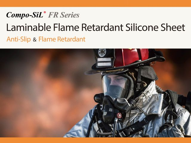 Compo-SiL® FR Series : Laminable Flame Retardant Silicone Sheet